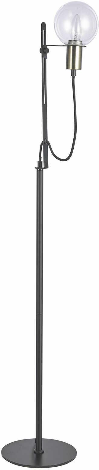 Italux Gianni ML16096-1B lampa podłogowa nowoczesna klosz szkło przeźroczyste E14 1x40W 140cm IP20