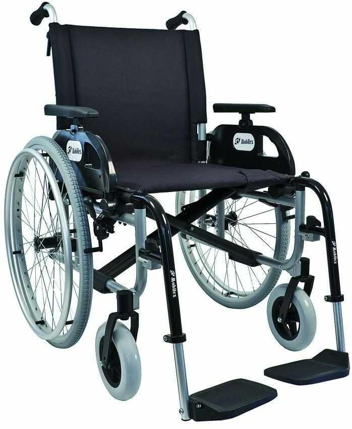 Wózek inwalidzki aluminiowy Delfin