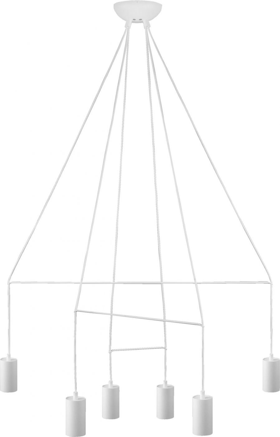 Lampa wisząca Imbria 9676 Nowodvorski Lighting nowoczesna oprawa w kolorze białym