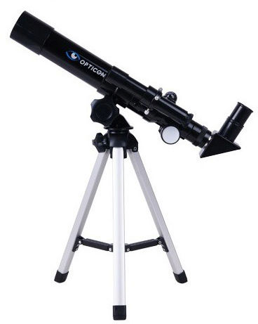 Teleskop Astronomiczny OPTICON FINDER + Statyw + Płyta DVD + Mapy/Plakaty Układu Słonecznego itd.