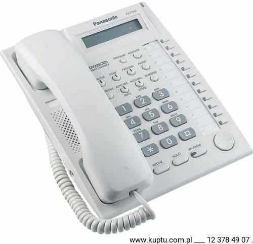 KX-T7730CE, telefon systemowy UŻYWANY gwarancja 6 miesięcy