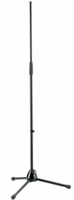 K&M 201/2 black statyw mikrofonowy prosty, czarny