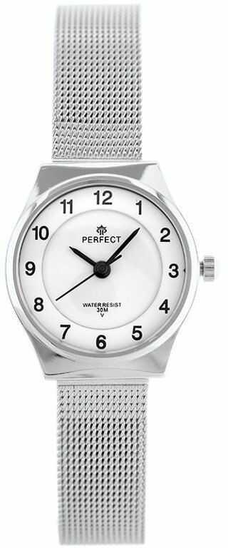 ZEGAREK DAMSKI PERFECT F101 (zp873a) silver
