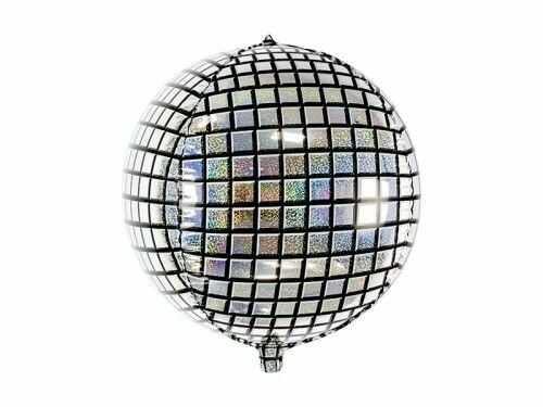 Balon foliowy Kula Dyskotekowa na Disco Party