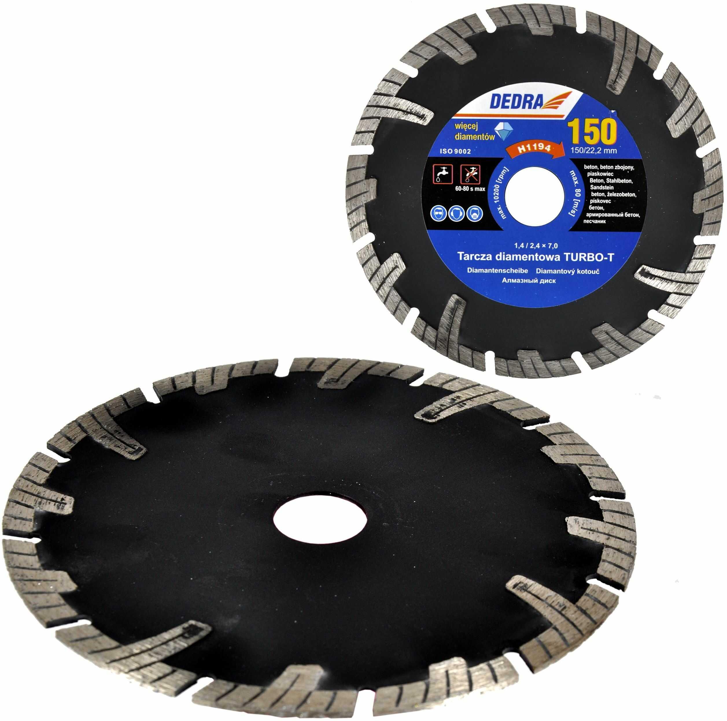 Piła tarczowa tarcza diamentowa 180mm 22,2 betonu
