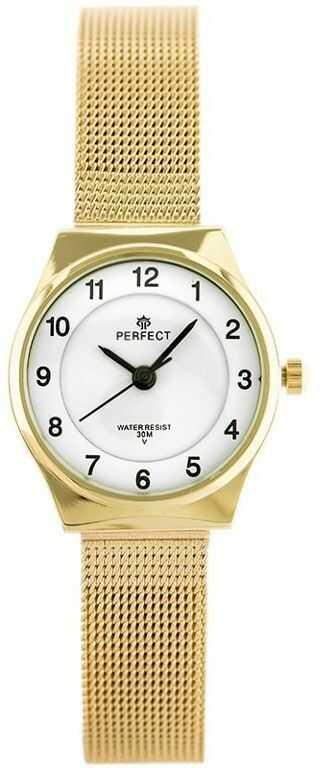 ZEGAREK DAMSKI PERFECT F101 (zp873b) gold