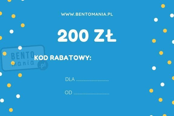 Karta podarunkowa na zakupy w sklepie o wartości 200 zł