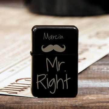 Mr Right - Zapalniczka z grawerem