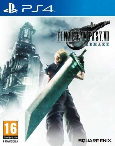 Final Fantasy VII Remake PS4 Używana