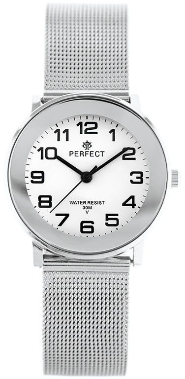 ZEGAREK DAMSKI PERFECT F254G (zp876a) silver