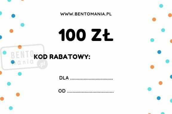 Karta podarunkowa na zakupy w sklepie o wartości 100 zł