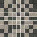 ARKESIA GRYS / GRAFIT mozaika mix poler 30x30