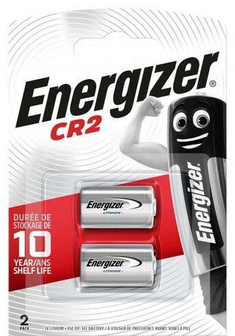 2 x Bateria CR2 litowa Energizer
