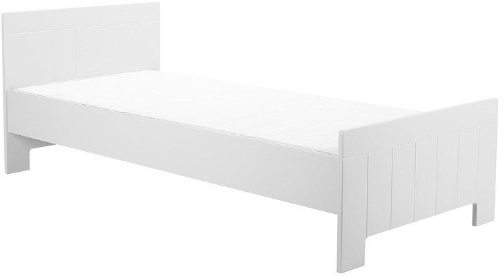 Białe Łóżko 200x90 Pinio Calmo