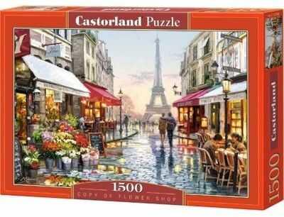 Puzzle Castorland 1500 - Kwiaciarnia Paryż, Flower Shop