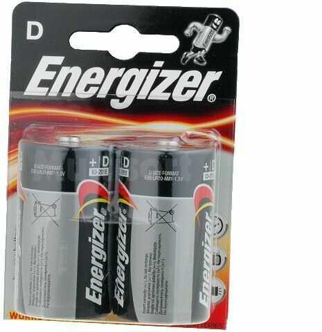 Bateria alkaliczna 1,5V Energizer Base R20 (D) 2 szt. blister