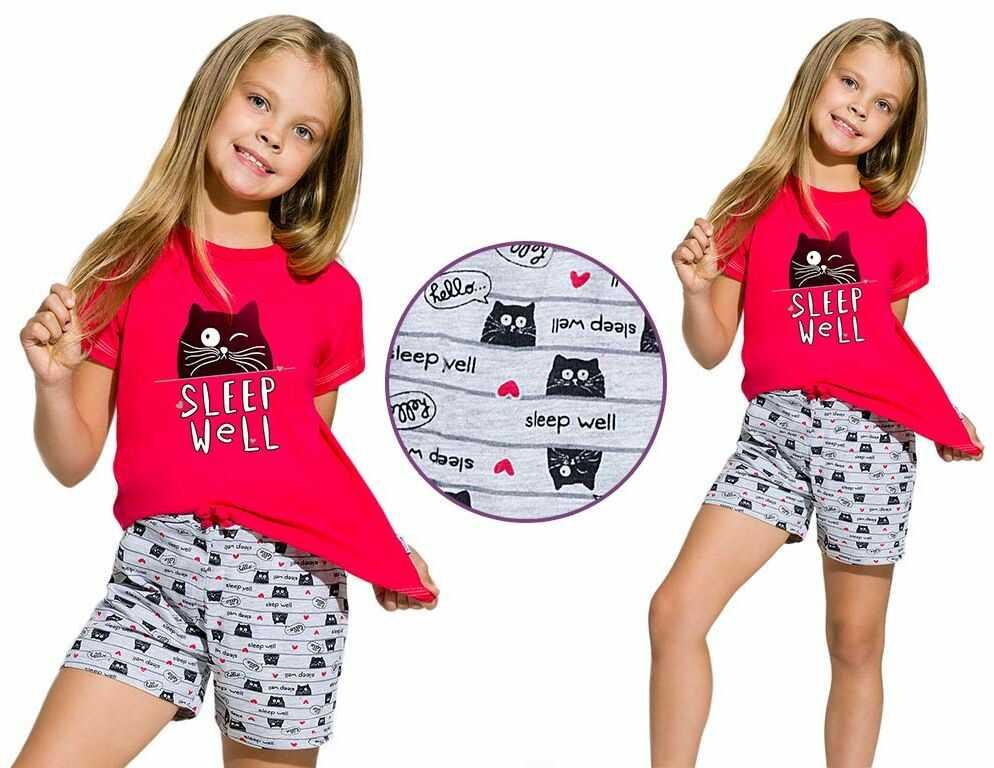 Piżama dziecięca HANIA: malina