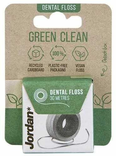 Jordan Green Clean nić dentystyczna 30 m