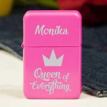 Queen of everything - Zapalniczka z grawerem