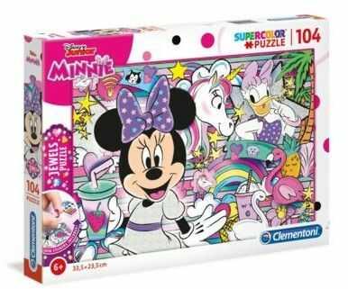 Puzzle Clementoni 104 - Disney Myszka Minnie