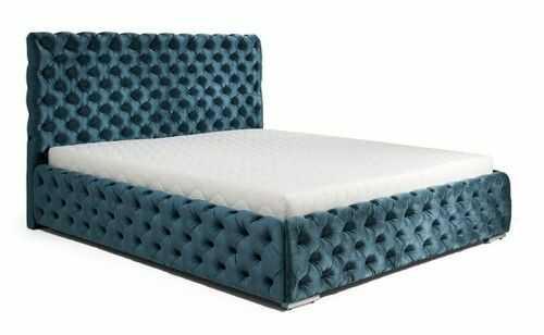 Łóżko HAVANA z pojemnikiem tapicerowane