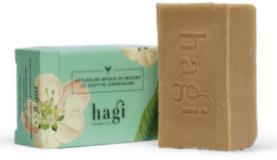 Naturalne mydło oliwkowe ze złotymi drobinkami 100g Hagi