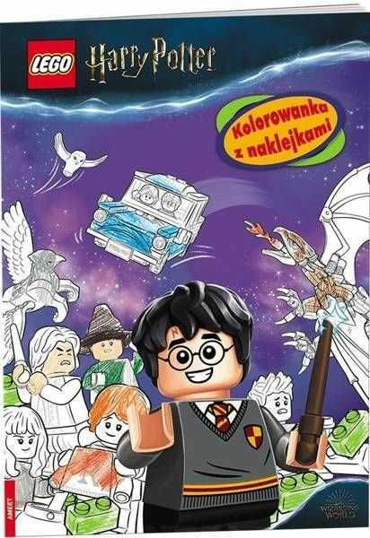 Lego Harry Potter. Zagrajmy w quidditcha! - praca zbiorowa
