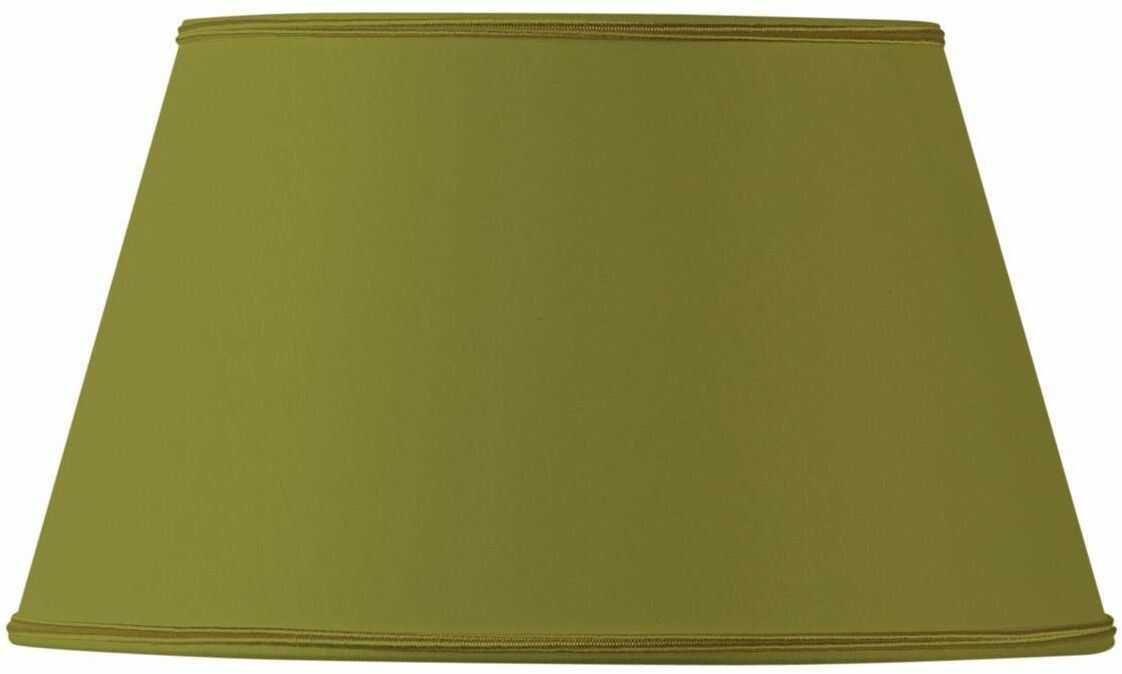 Klosz lampy/abażur, półkształt, 20 x 14 x 11,5 cm, zielony/brąz