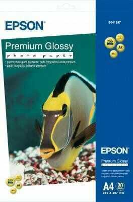 Papier Epson Premium Glossy Photo Paper, A4, 255g, 20ark.