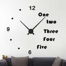 "Zegar ścienny ""zrób to sam"" cichy #17B3 /355mm"