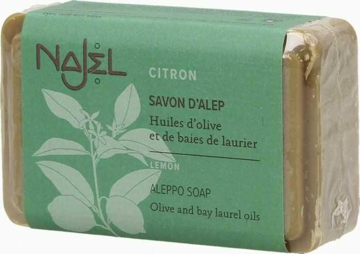 Mydło z Aleppo z Cytryną, Najel, 100% Naturalne