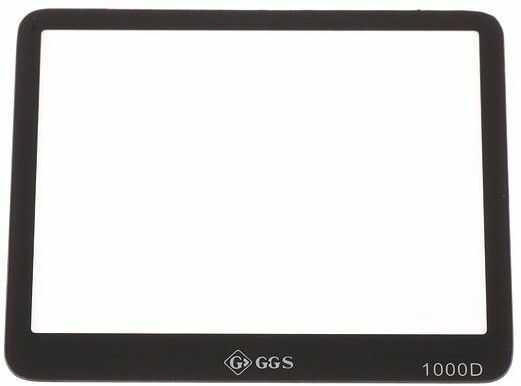 GGS osłona LCD dedykowana do Canona 1000D szkło hartowane