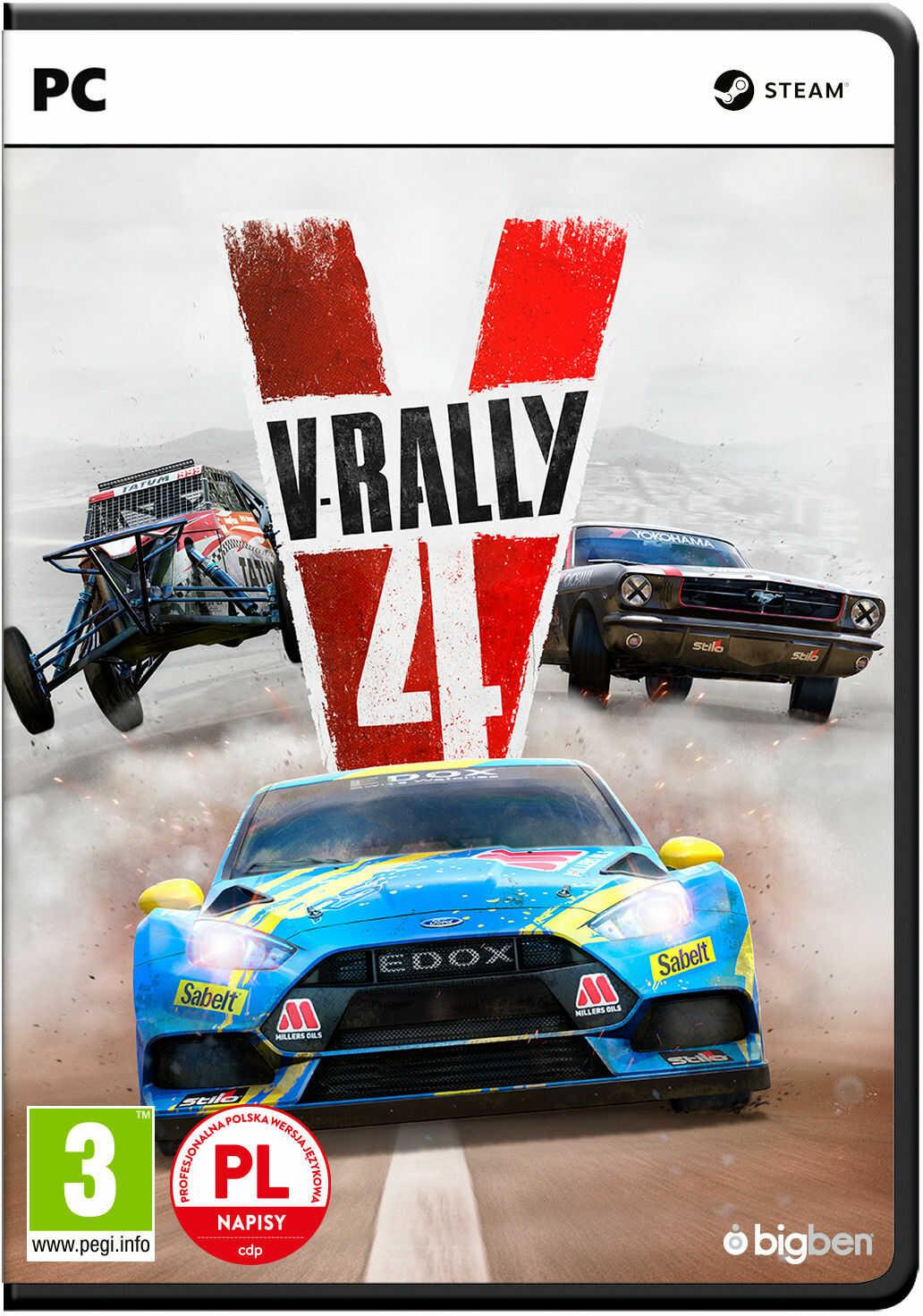 V-Rally + DLC PL (PC)