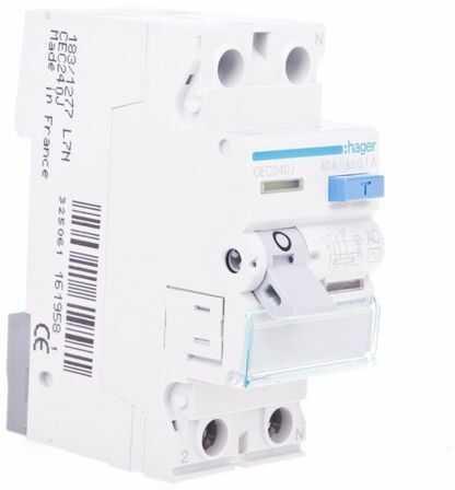 Wyłącznik różnicowoprądowy 2P 40A 0,1A typ AC CEC240J