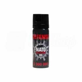 Żelowy gaz pieprzowy NATO Defense - skuteczne obezwładnienie