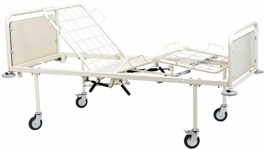Łóżko rehabilitacyjne A-4/3SG (sprężyna gazowa)