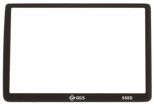 GGS osłona LCD dedykowana do Canona 550D szkło hartowane