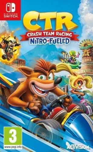 Crash Team Racing Nitro Fueled NS Używana