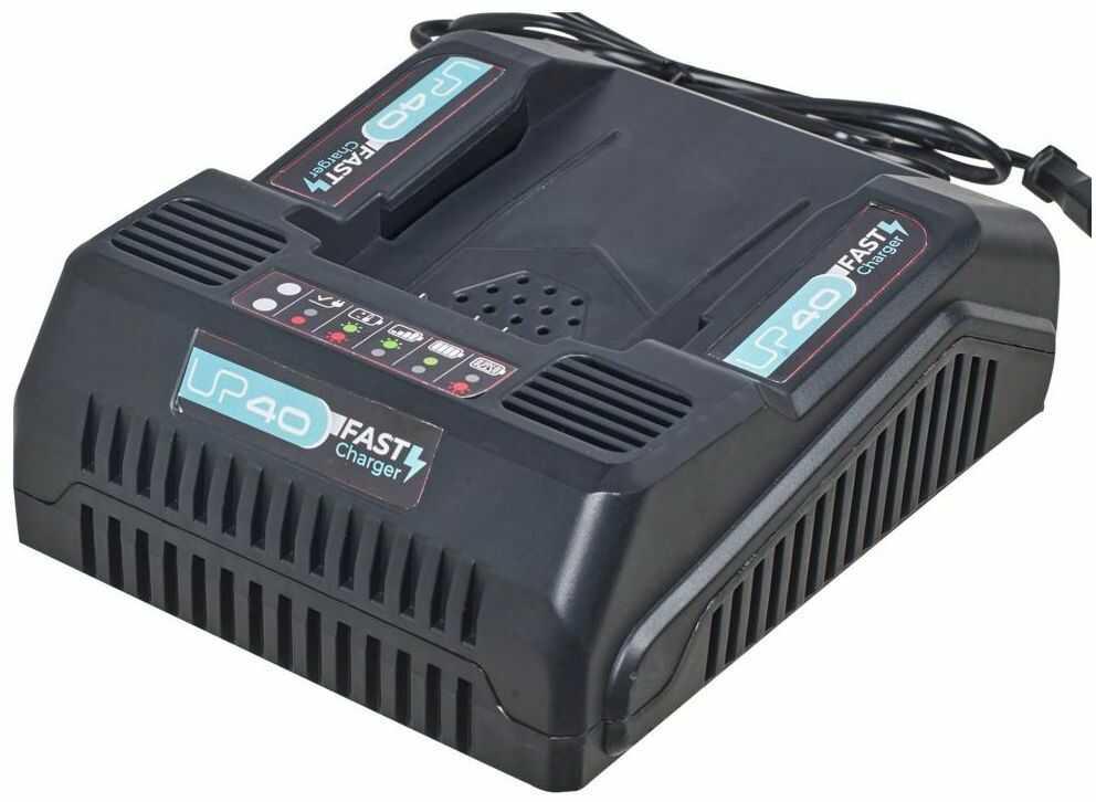 Ładowarka 40 V LEXMAN z szybkim ładowaniem STERWINS UP DEXTER