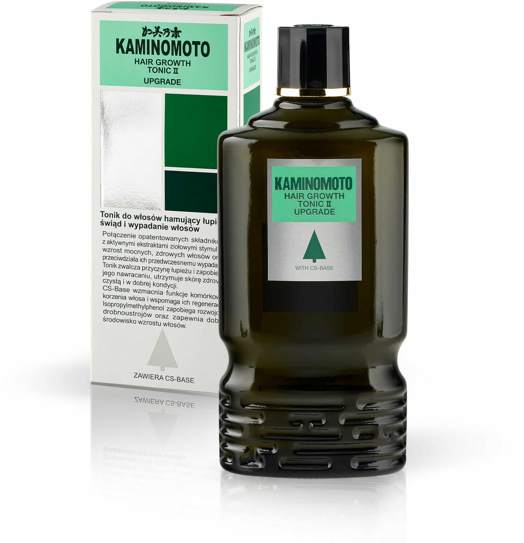 Kaminomoto Hair Growth Tonic II upgrade - Tonik na porost włosów, hamujący łupież 180 ml