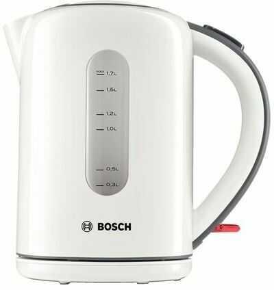 Bosch Czajnik 1.7L biały TWK 7601 I tel. (22) 266 82 20 I Raty 0 % I kto pyta płaci mniej I Płatności online !