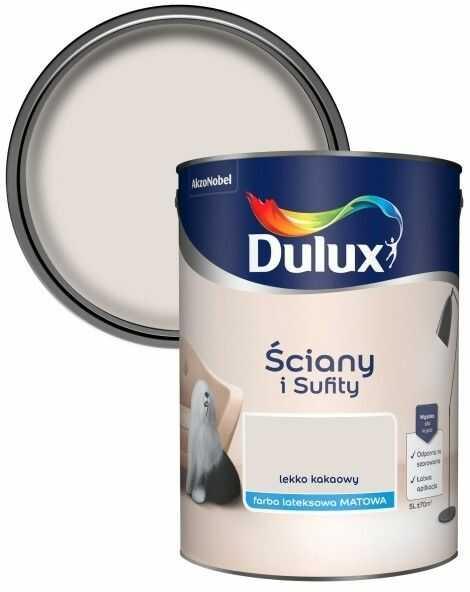 Farba Dulux Ściany i Sufity lekko kakaowy 5 l