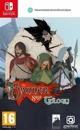 The Banner Saga Trilogy NS Używana