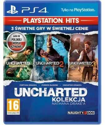 Gra PS4 HITS Uncharted: Kolekcja Nathana Drakea. Kup Taniej o 40 ZŁ w Klubie. Sprawdź!
