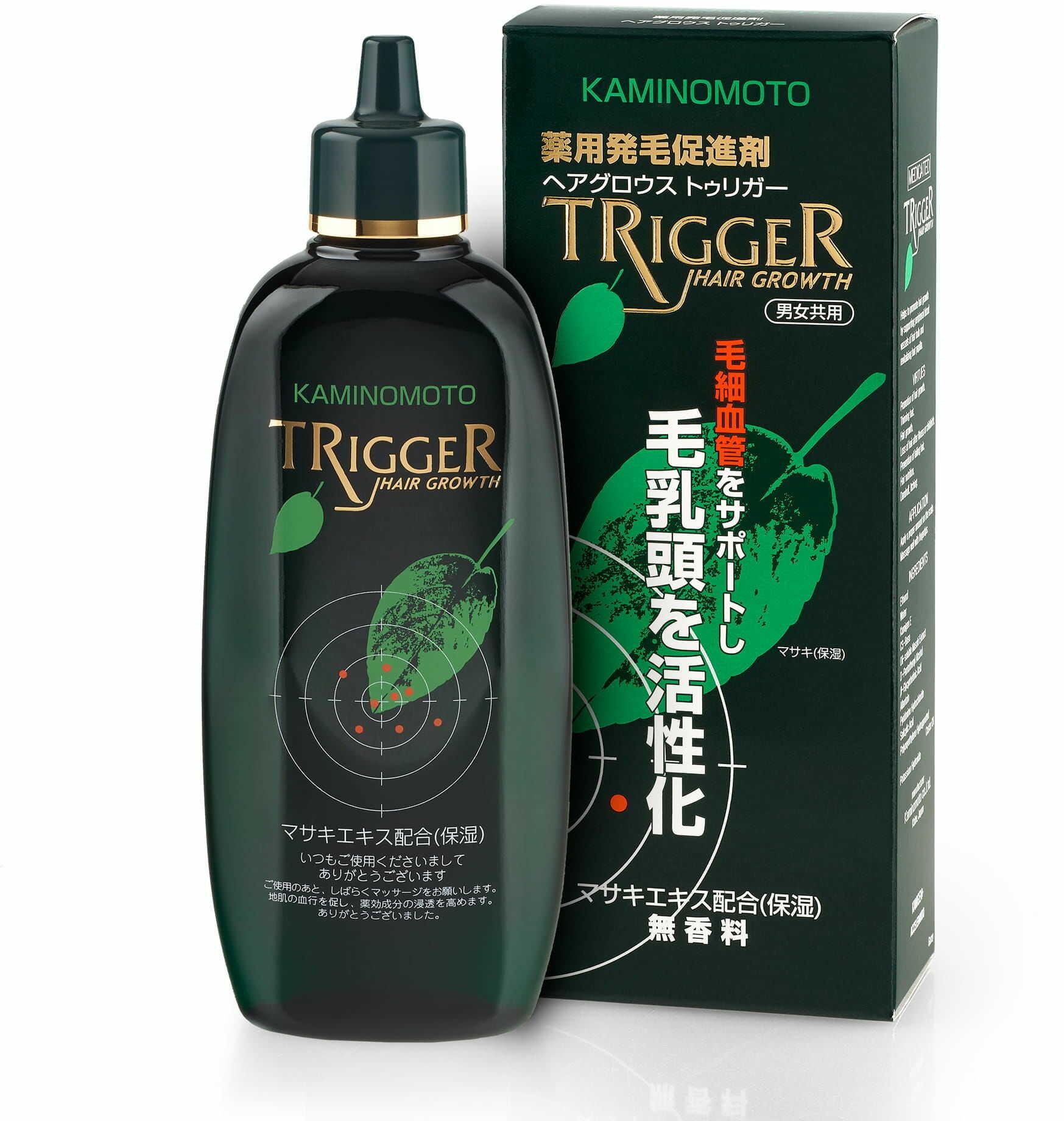 KAMINOMOTO Hair Growth Trigger - kuracja zapobiegająca wypadaniu włosów 180ml