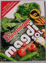 Sól niskosodowa MAGDI - 500g