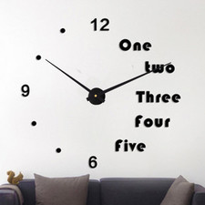 "Zegar ścienny ""zrób to sam"" cichy #17B5 /452mm"