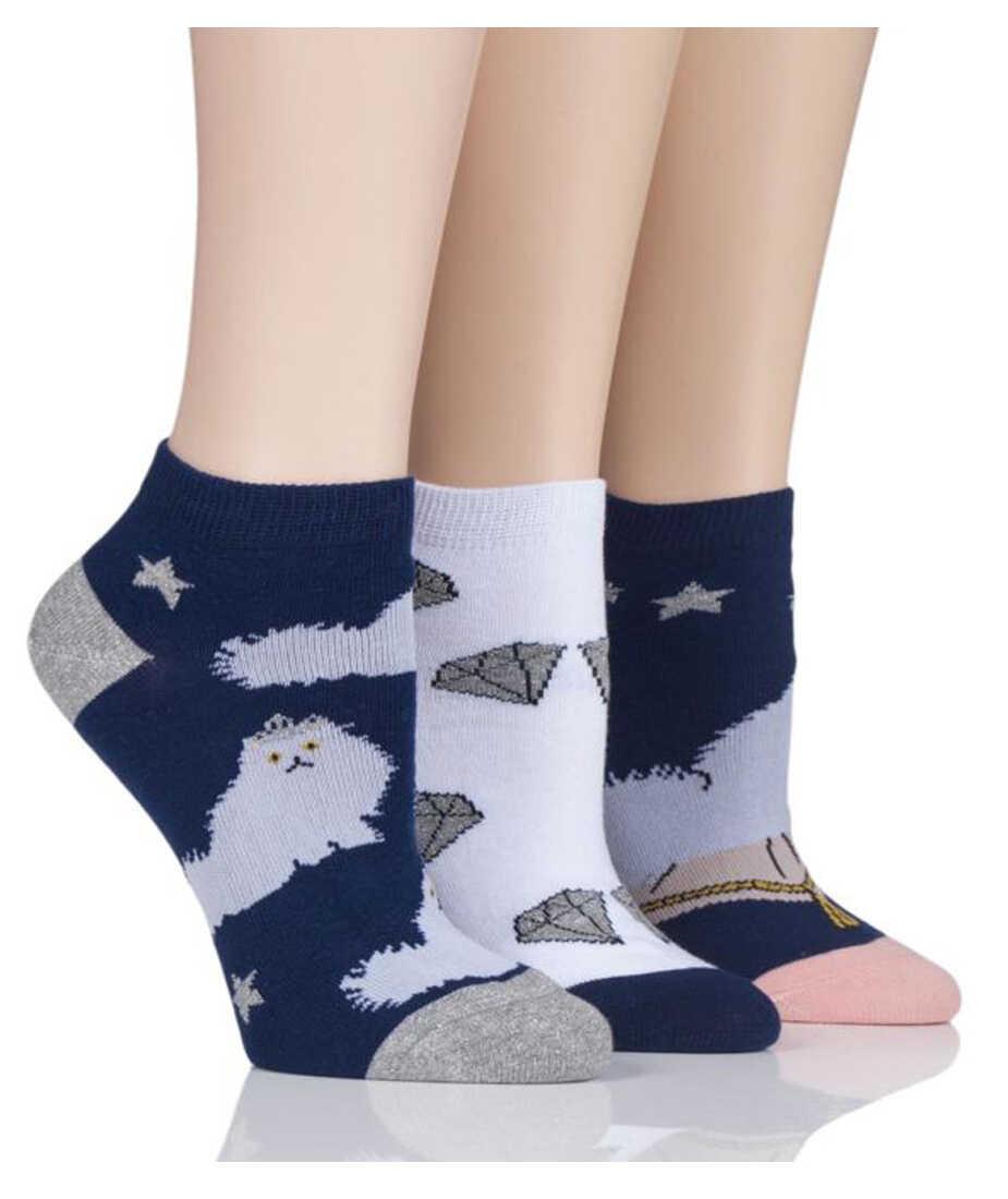 Kolorowe STOPKI Wild Feet - Kot PERS - 3 pary !!!