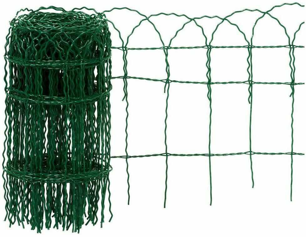 Siatka ozdobna pleciona 0.4 x 10 m zielona