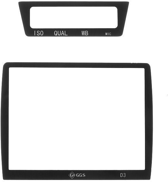GGS osłona LCD dedykowana do Nikona D3 szkło hartowane